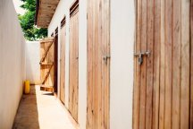 New bathrooms for the orphan home